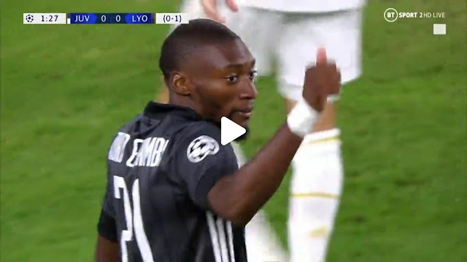 VIDEO: Juventus 2:1 Olympique Lyon / Champions Laegue