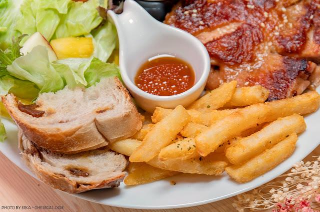MG 3621 - 熱血採訪│蔚蒔Dunch午晚餐,隱藏版花草森林系餐廳新開幕!餐點好吃份量有誠意