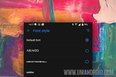 Download Gaya Font Asus Zenfone 6 2019