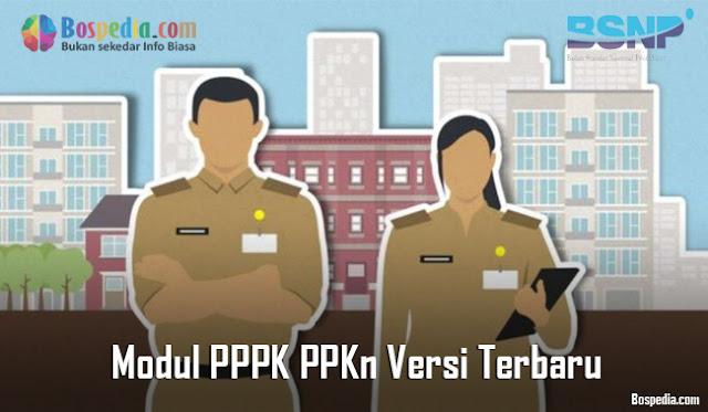 Modul PPPK PPKn Versi Terbaru