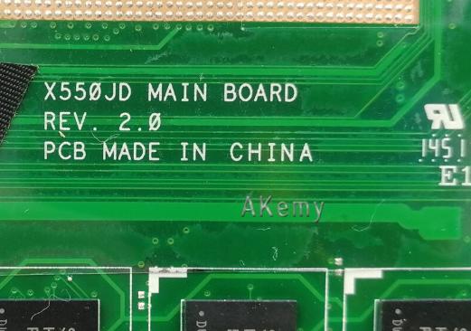 X550JD MAIN BOARD Rev 2.0  ASUS FX50J Laptop Bios
