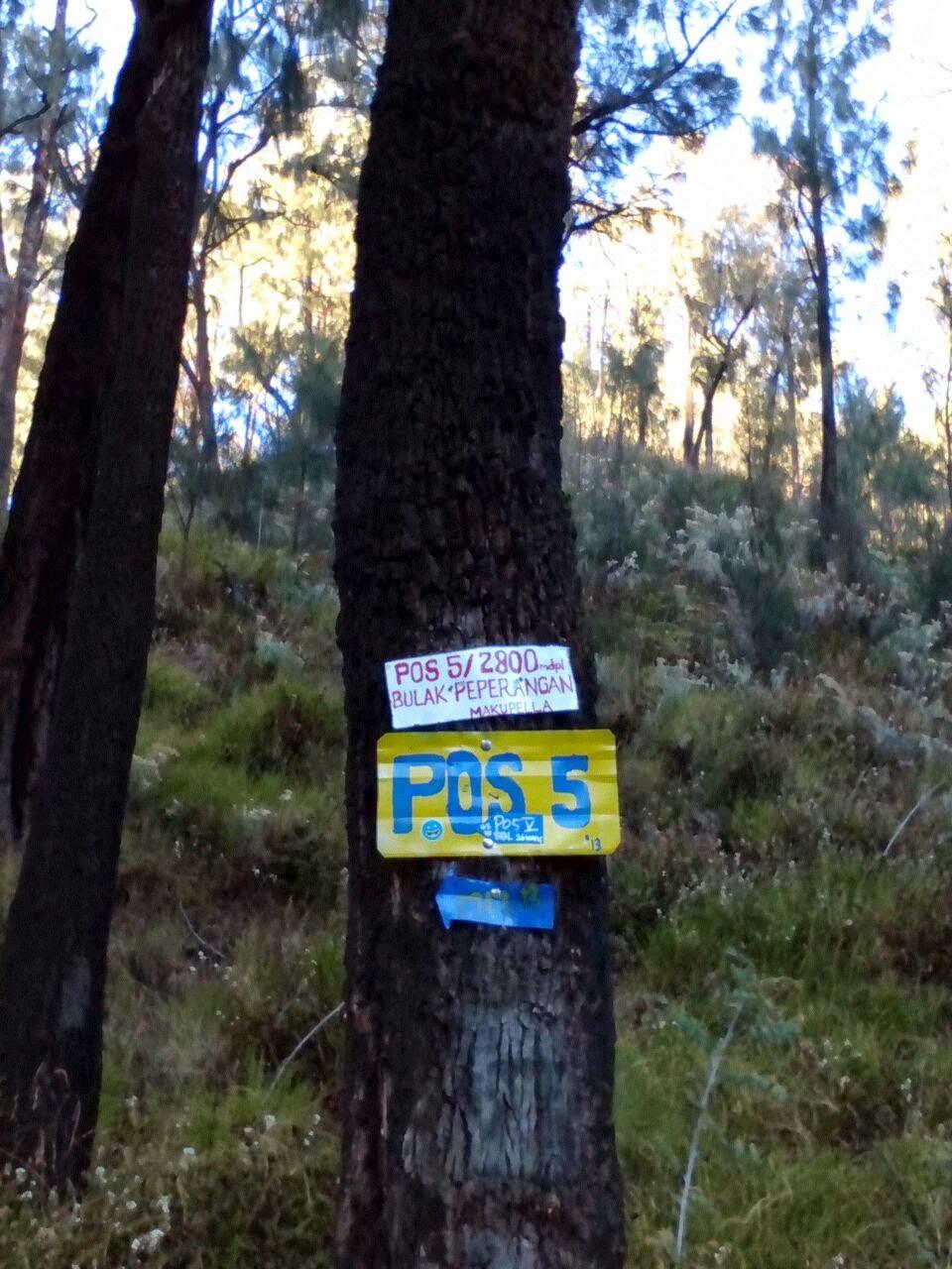 Pos 5 Gunung Lawu Via Cetho