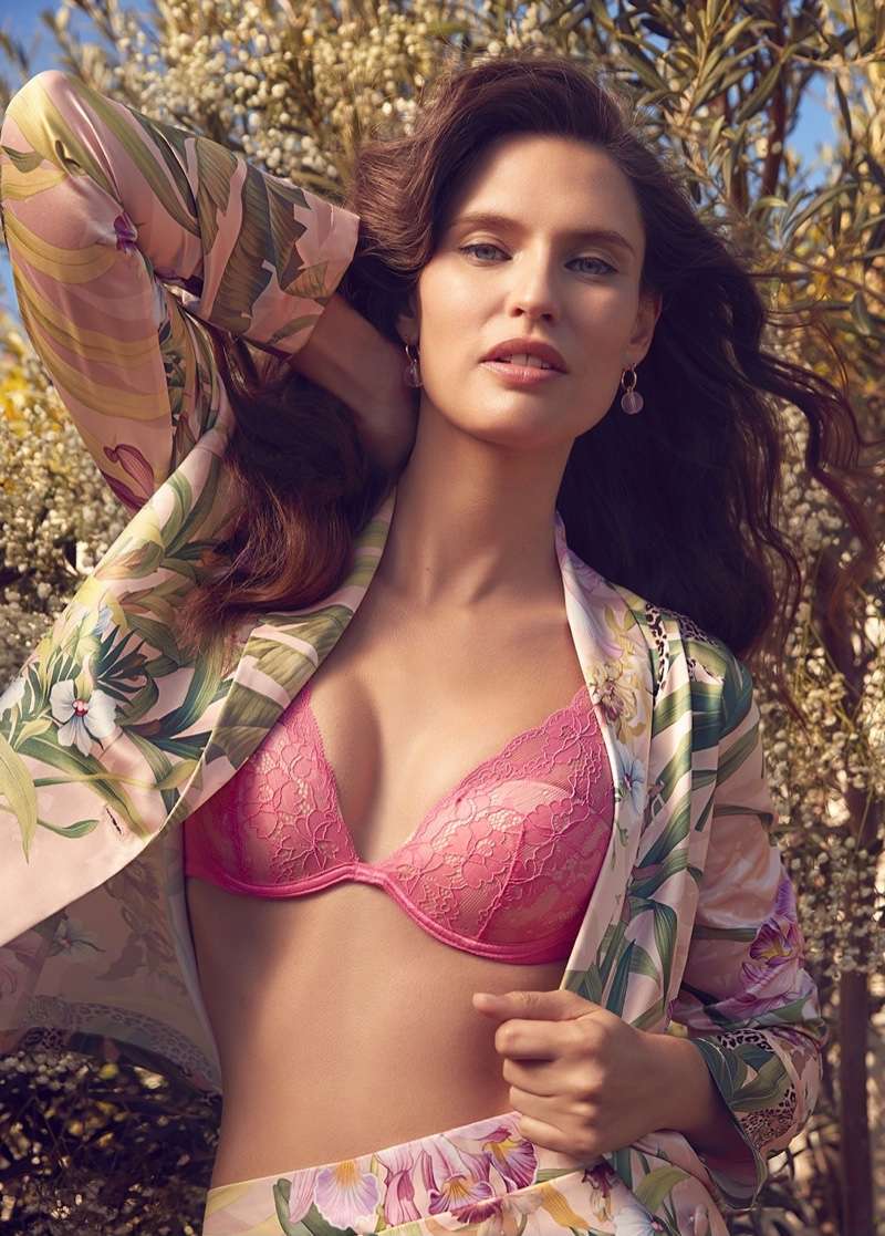 Bianca Balti fronts Yamamay Eco Collection lingerie campaign.