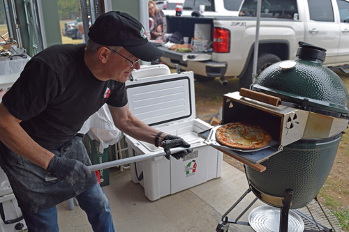 The Pizza Porta is a hot accessory for kamados like Big Green Egg and Kamado Joe.