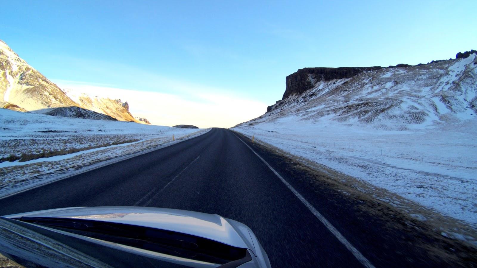 główna droga Islandia