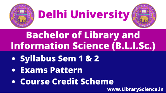 Bachelor of Library and Information Science Syllabus