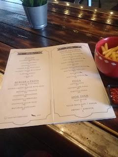 menu di madeline coffee banjarbaru