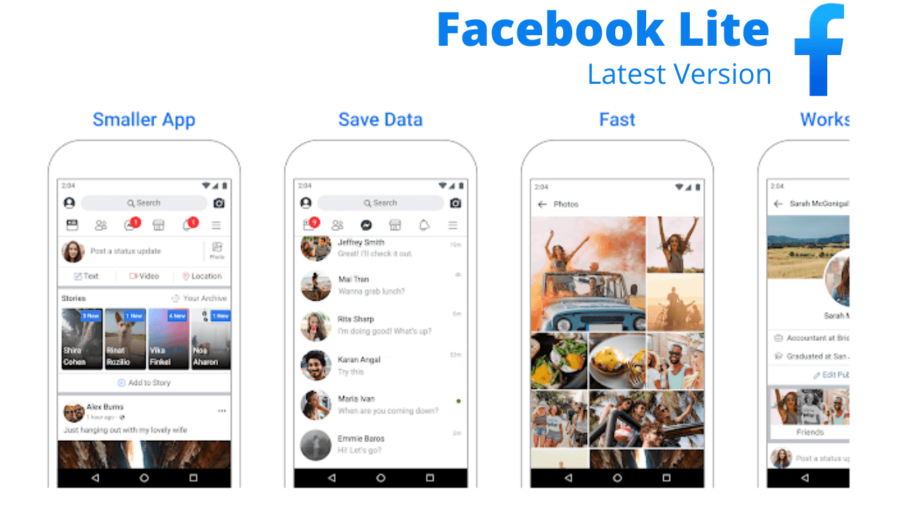 Facebook Lite download For Android Latest Version