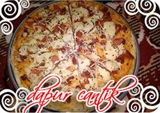 Gambar Masakan Pizza Sosis Campur Kornet Dapur Cantik