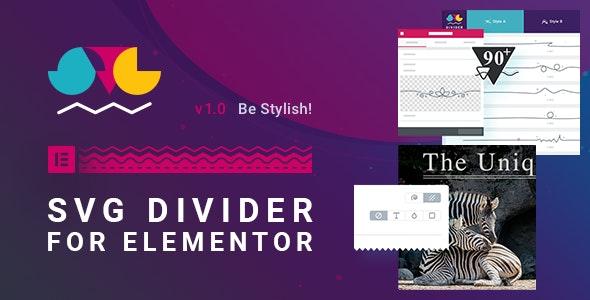 SVG Divider for Elementor v1.0.0