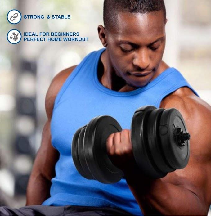 Kore PVC-DM COMBO16 Home Gym Dumbbells Kit