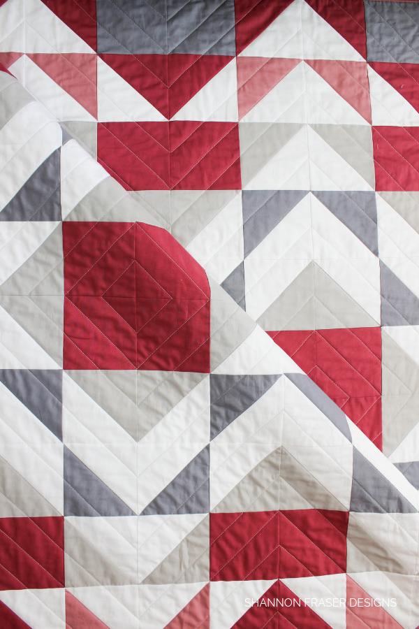 Modern Aztec Quilt | Shannon Fraser Designs