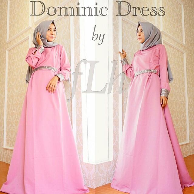 Model Baju Muslim Untuk Acara Pesta c18d5c0af9