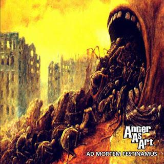 """Το βίντεο των Anger as Art για το τραγούδι """"Unknowing, Undead"""" από τον δίσκο """"Ad Mortem Festinamus"""""""