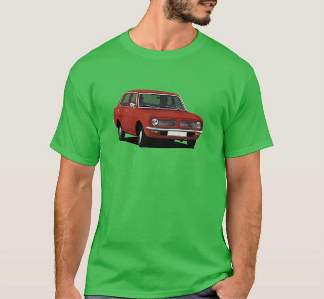 Cornering red Morris Marina shirt