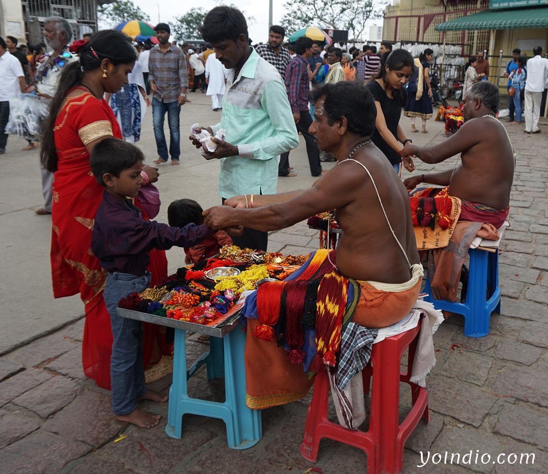 Chamundi Temple Priest