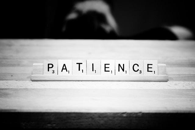 patience, sabar