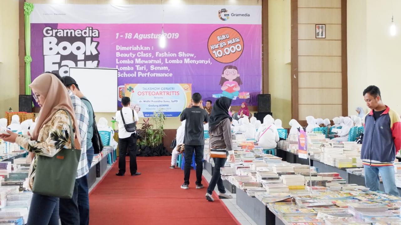Pameran Buku Gramedia Meriahkan HUT Wonosobo Ke 194