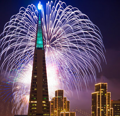 New Years Countdown in San Francisco