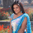 Divya Spandana Aka Ramya in Saree    Cute Pictures