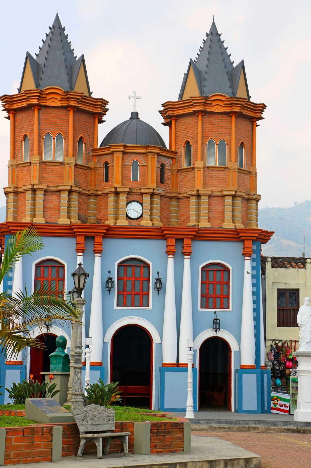 Beautiful Church from Medellín Colombia