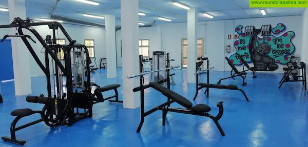 Tijarafe abrirá su gimnasio municipal en marzo