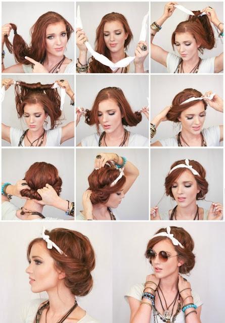 Más de 1000 ideas sobre Peinados Vintage en Pinterest Peinados  - Peinados Vintage Paso A Paso