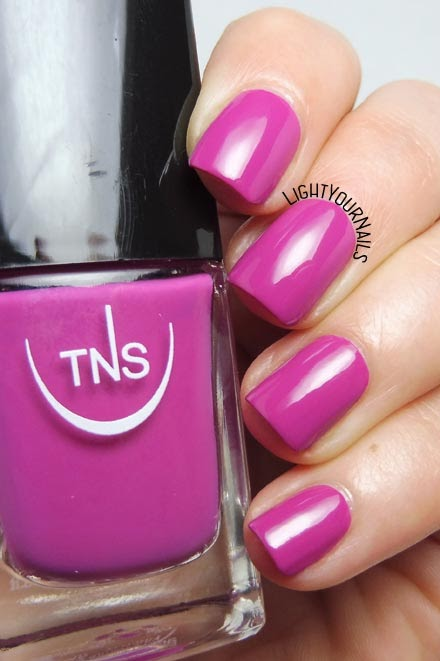 Smalto viola orchidea TNS Firenze 539 Venere orchid purple nail polish #TNSCosmetics #nails #unghie #lightyournails