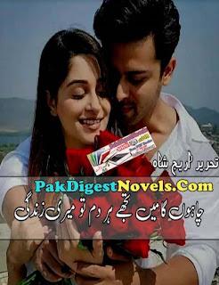 Chahon Ga Mein Tujhe Har Dam Tu Meri Zindagi Novel By Areej Shah Pdf Download