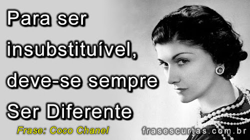Para ser insubstituível, deve-se sempre ser diferente