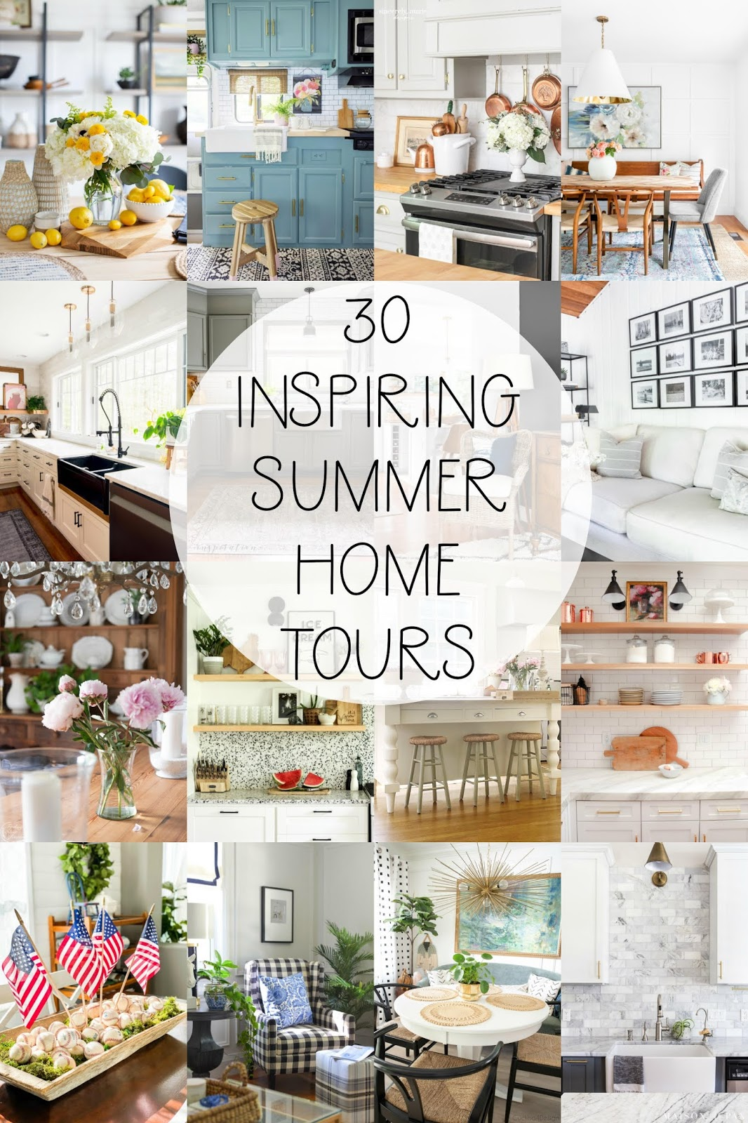 summer home, summer home decor, summer decorating ideas