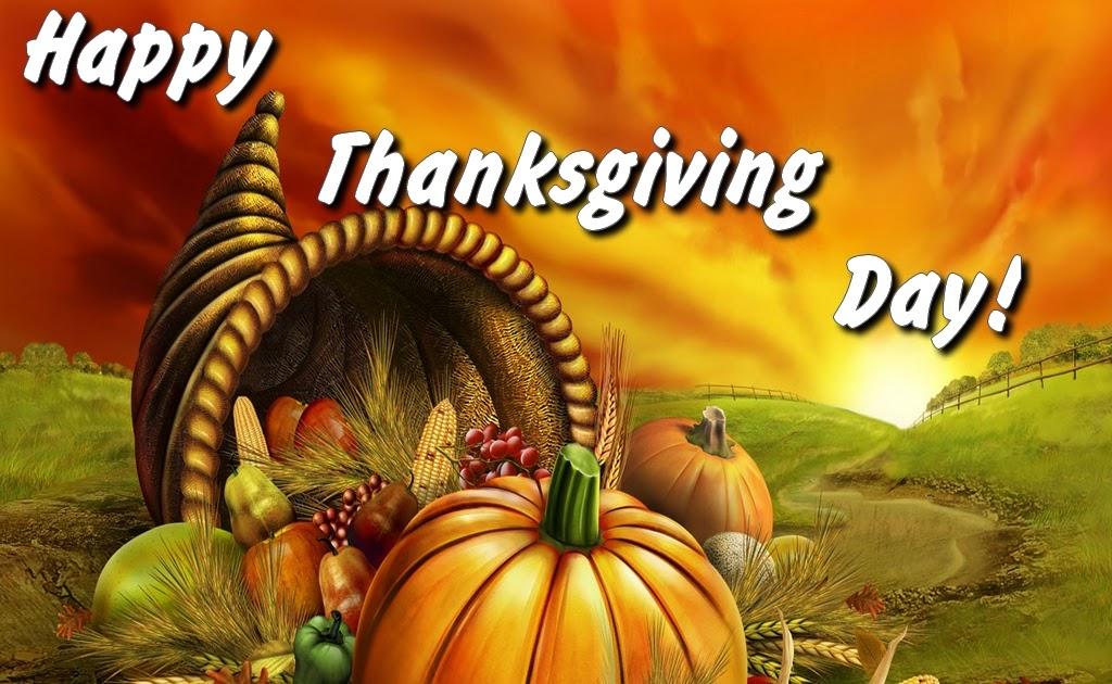 Christian Wallpaper: Happy Thanksgiving Day!