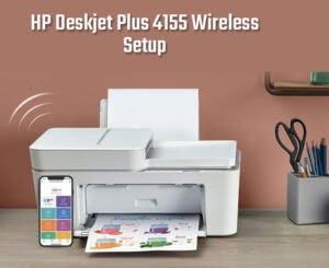 HP Deskjet Plus 4155 is an all-in-one printer. With its dual-band wifi, it gives you reliable and strong wireless connectivity. With its compatibility