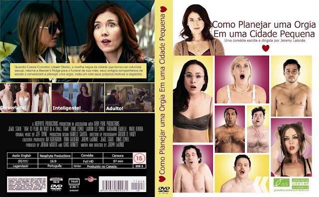 Capa DVD Como Planejar Uma Orgia Em Uma Cidade Pequena