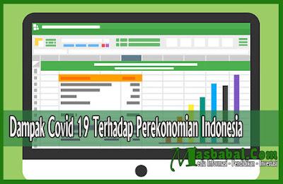 Dampak Covid 19 Terhadap Perekonomian Indonesia
