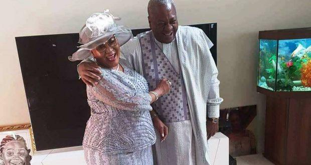 (Photos) John Mahama, Lordina renew wedding vows