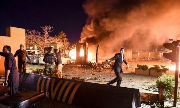 Quetta, Bomb Blast in the Parking of Serena Hotel Killed 4 People