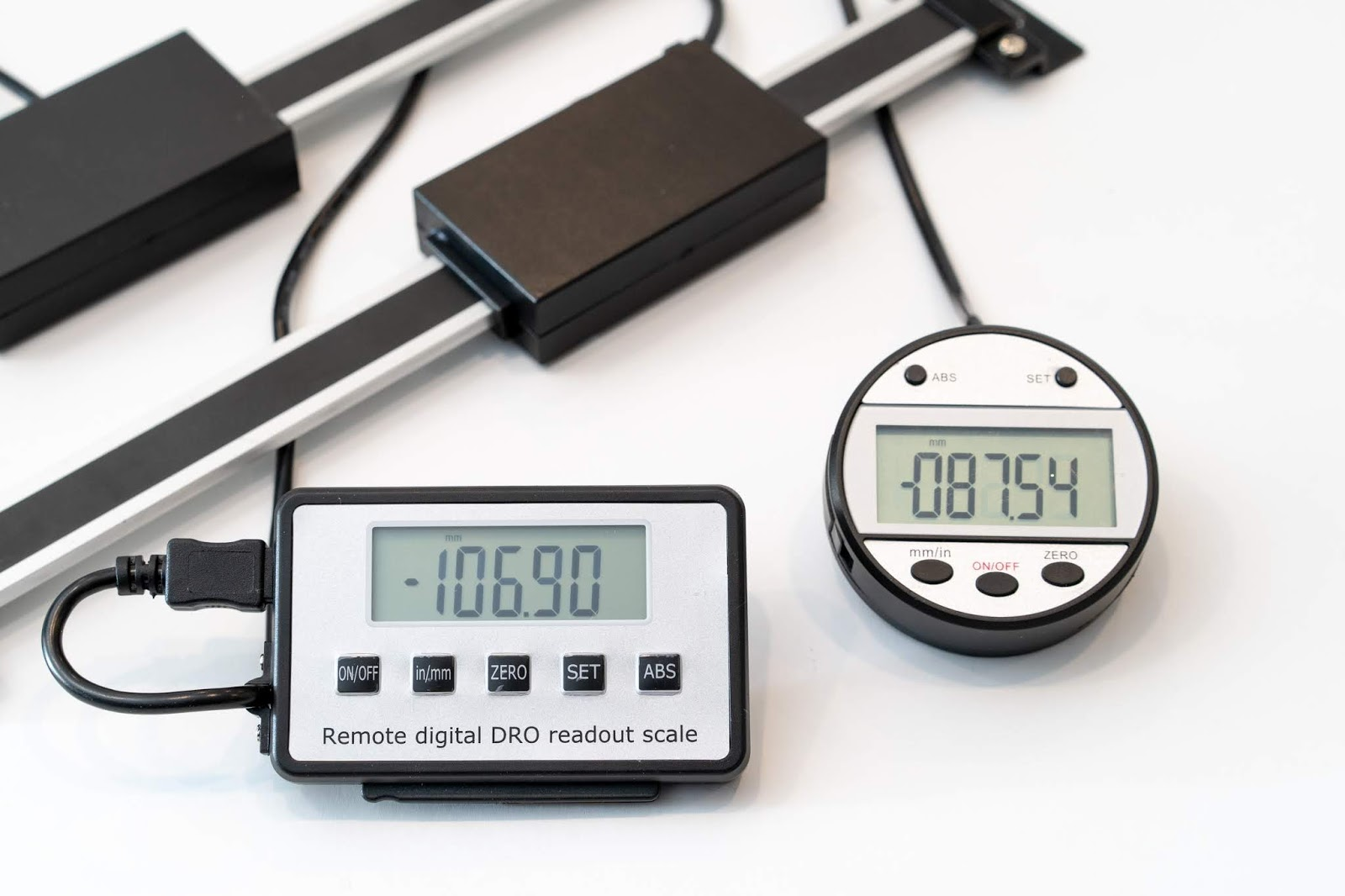 Shahe 5403 and 5404 Digital Linear DRO Scales Overview