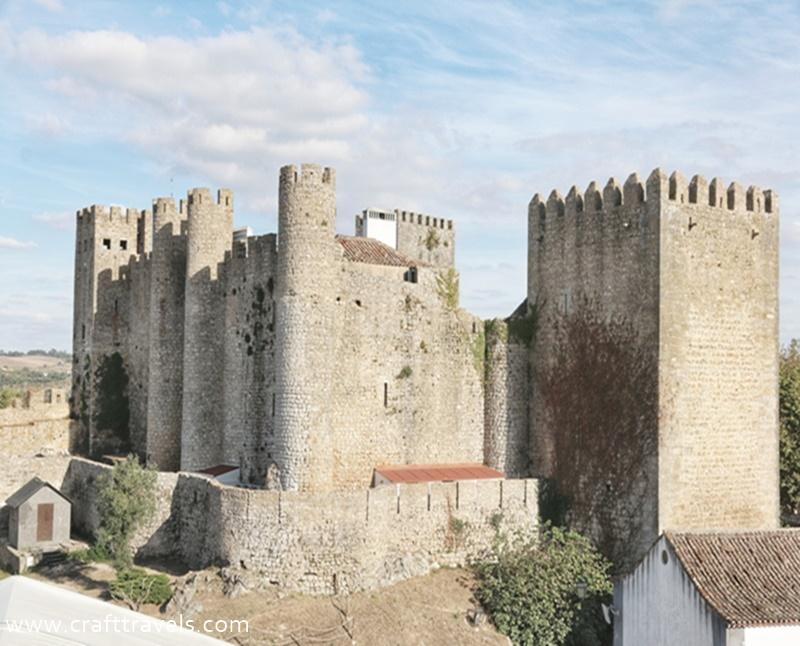 średniowieczny zamek w Obidos, 7 cudów Portugalii, Obidos w Portugalii