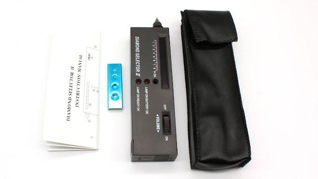 diamond selector II accesorios incluidos - foro de minerales