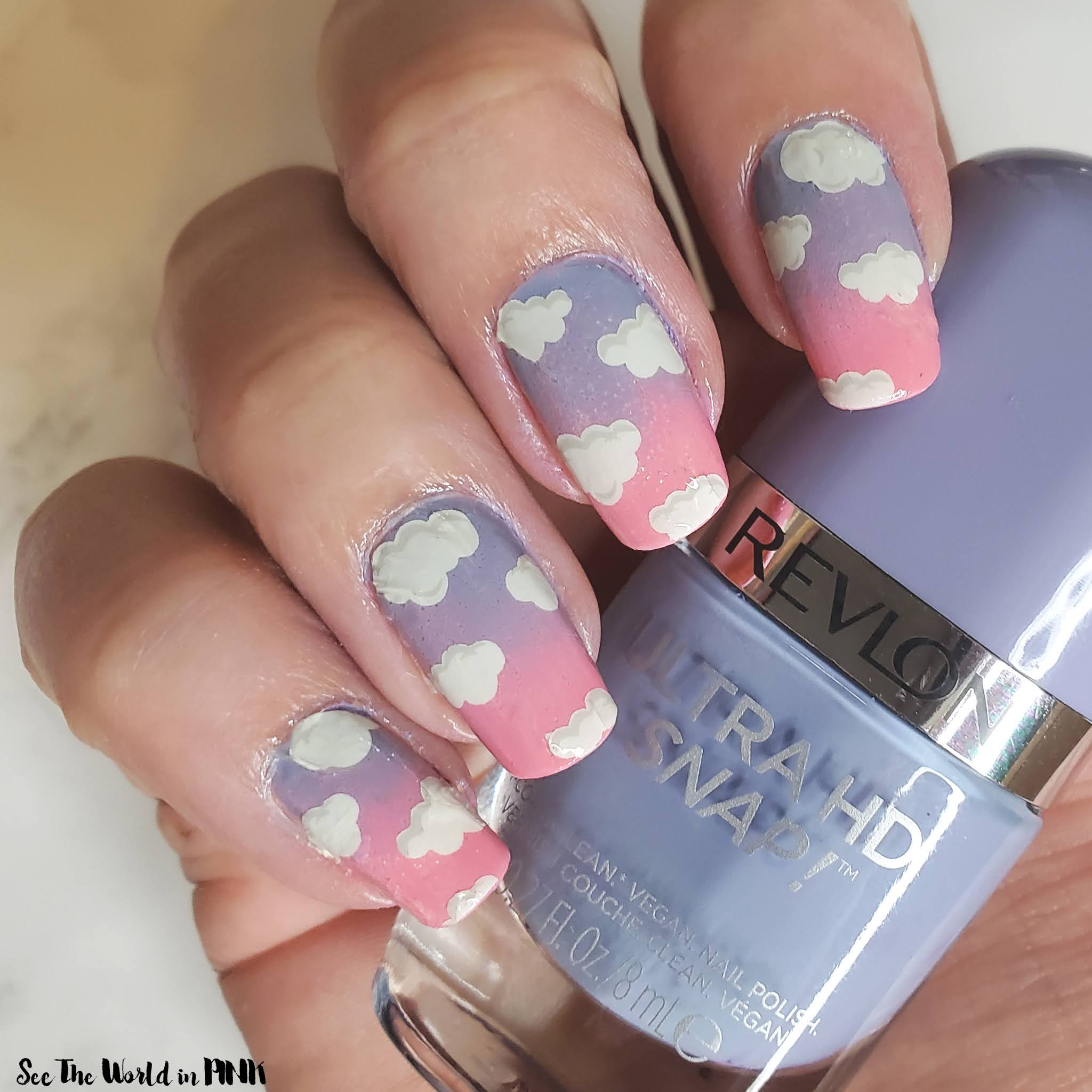 Manicure Monday - Summer Skies Nails