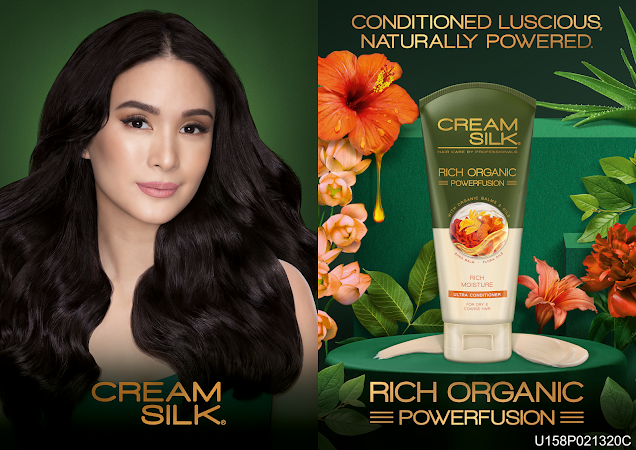 Discovering the richness of Nature with the All-new  Cream Silk Rich Organic Powerfusion Ultra Conditioner