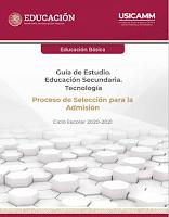 Guía de Estudio para Educación Secundaria Tecnología
