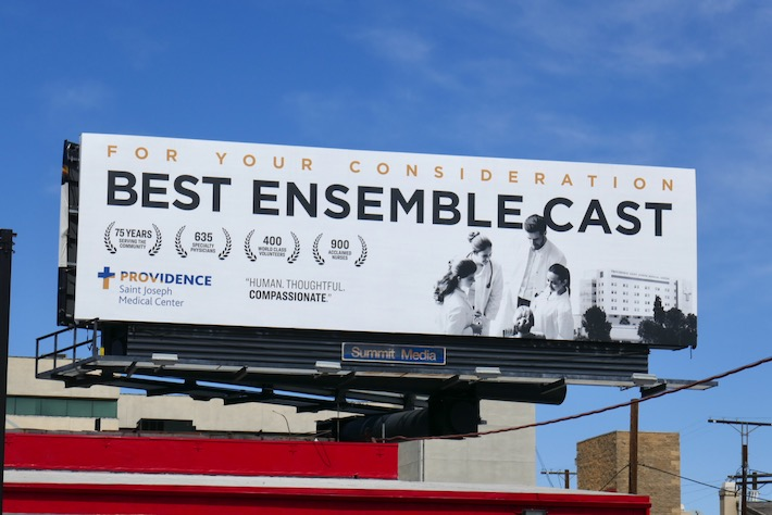 Best Ensemble Cast 2020 Providence FYC billboard