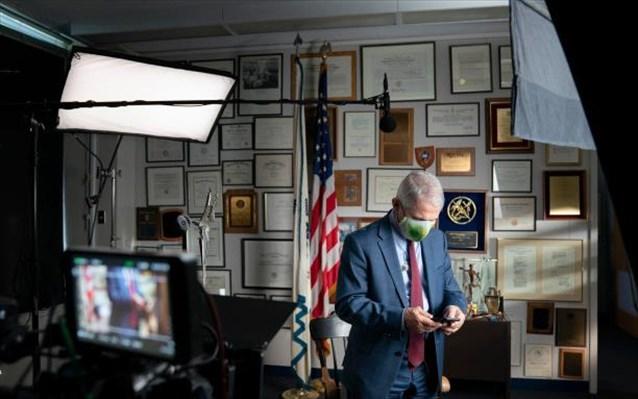 Ντοκιμαντέρ για τον Άντονι Φάουτσι ετοιμάζει το National Geographic