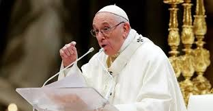 El papa Francisco solicitó a las  Naciones Unidas que disminuyan sanciones internacionales