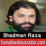 http://www.humaliwalayazadar.com/2018/02/shadman-raza-noha-special-kalam-2018.html