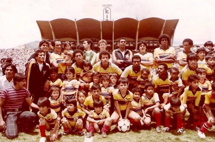 Formación de Ecuador ante Chile, Clasificatorias México 1986, 3 de marzo de 1985