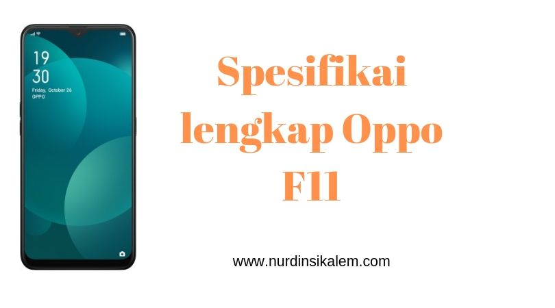 Spesifikasi Oppo F11