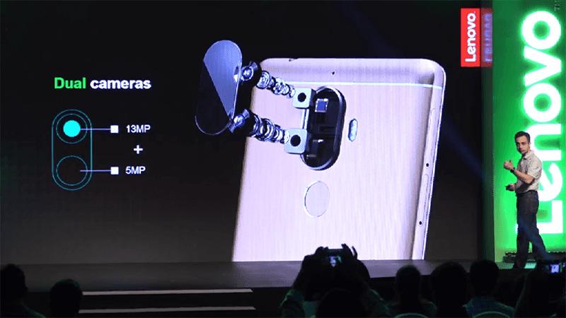 Dual cameras